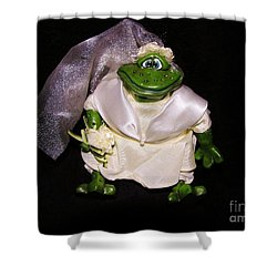 Shower Curtain featuring the photograph The Green Bride by Sherman Perry