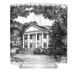 The Grove Tallahassee Florida Shower Curtain