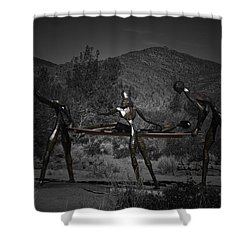 Shower Curtain featuring the photograph The Nurses by Betty Depee