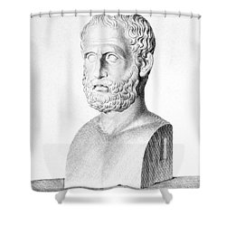 Theophrastus Shower Curtain by Granger