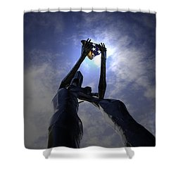 Shower Curtain featuring the photograph Those Left Behind  by Betty Depee