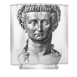 Tiberius (42 B.c.- 37 A.d.) Shower Curtain by Granger