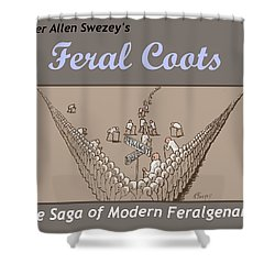Title Page Shower Curtain