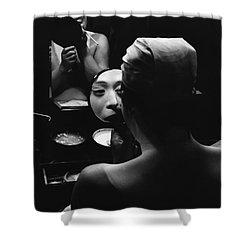 Tokyo Shower Curtain by Bernard Wolff