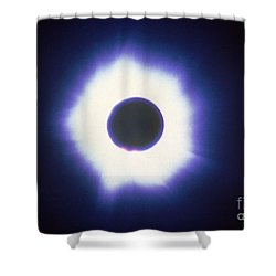 Total Solar Eclipse With Corona Shower Curtain by Science Source