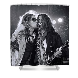 Toxic Twins  Shower Curtain