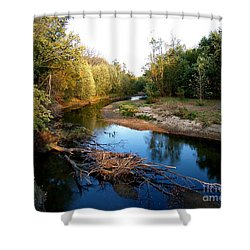 Twisted Creek Shower Curtain