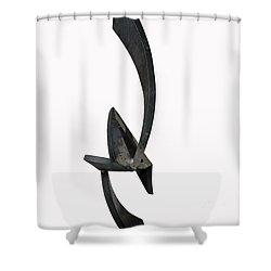 Up Lift Shower Curtain by John Neumann