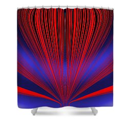 Up Up And Away Shower Curtain by Tim Allen