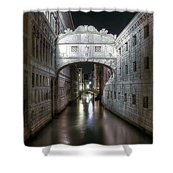 Venice Shower Curtain by Joana Kruse
