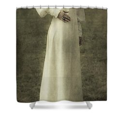 Victorian Lady Shower Curtain by Joana Kruse