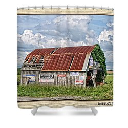 Shower Curtain featuring the photograph Vote For Me I by Debbie Portwood