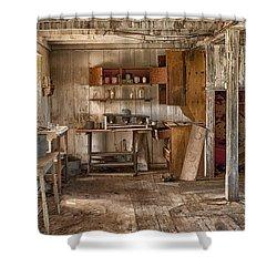 Vulture Mine Shower Curtain by Sandra Bronstein
