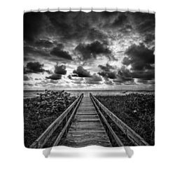 Walkway To Tomorrow Shower Curtain