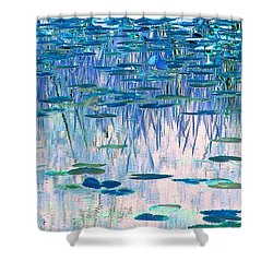 Shower Curtain featuring the photograph Water Lilies by Chris Anderson