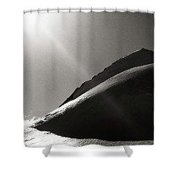 Western Plateau Shower Curtain by Konstantin Dikovsky
