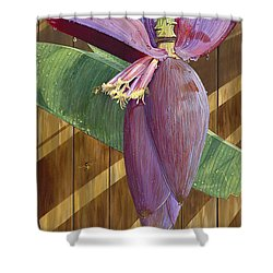 Shower Curtain featuring the painting Wet by AnnaJo Vahle