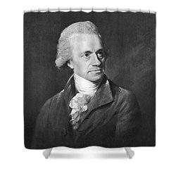 William Herschel, German-british Shower Curtain by Science Source
