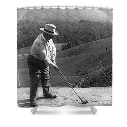 William Howard Taft Shower Curtain by Granger