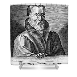 William Tyndale (1492?-1536) Shower Curtain by Granger