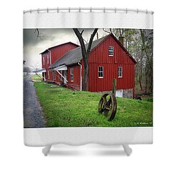Williston Mill Shower Curtain by Brian Wallace