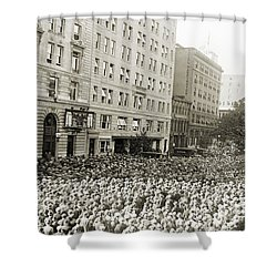 World Series, 1925 Shower Curtain by Granger