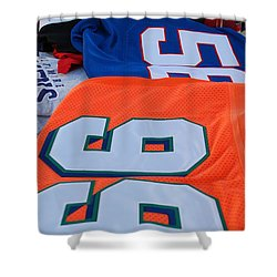 10 56 99 Shower Curtain by Rob Hans