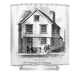 Benjamin Franklin Shower Curtain by Granger