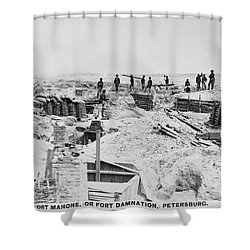 Civil War: Petersburg Shower Curtain by Granger
