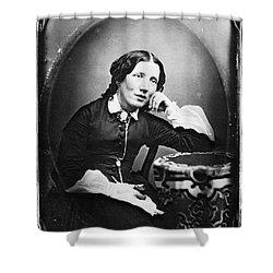 Harriet Beecher Stowe Shower Curtain by Granger