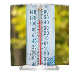110 Degrees In The Shade Shower Curtain by Al Powell Photography USA