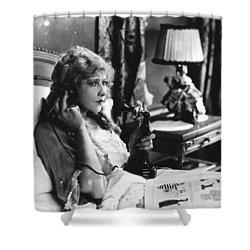 Film Still: Telephones Shower Curtain by Granger