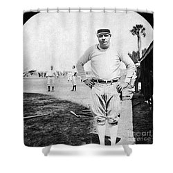 George H. Ruth (1895-1948) Shower Curtain by Granger