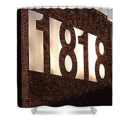 1818 Shine Shower Curtain