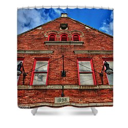Shower Curtain featuring the photograph 1898 by Rachel Cohen
