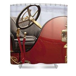 1910 Mercer Speedster Shower Curtain by Jill Reger