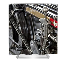 1923 Condor Motorcycle Shower Curtain