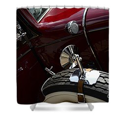 1932 Chevrolet Detail Shower Curtain by Bob Christopher