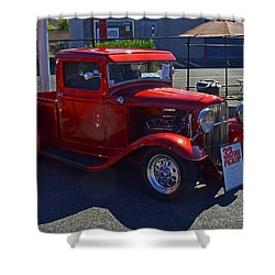 Shower Curtain featuring the photograph 1932 Ford Pick Up by Tikvah's Hope