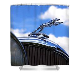 Shower Curtain featuring the photograph 1932 Lincoln Kb Brunn Phaeton by Gordon Dean II