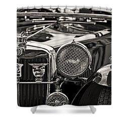 1935 Vintage Mg Pb Shower Curtain