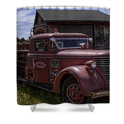 1939 American Lafrance Foamite Shower Curtain