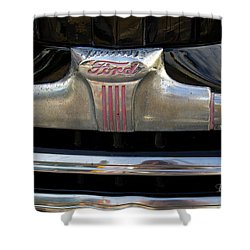 1940s Ford Grill Shower Curtain