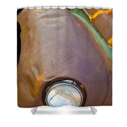 1941 International Truck Fender Shower Curtain