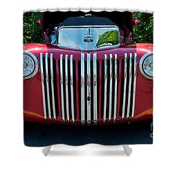 1947 Ford Truck Shower Curtain by Mark Dodd