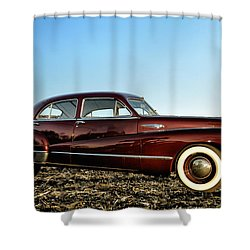 1948 Buick Eight Super Shower Curtain by Bill Cannon