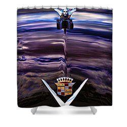1949 Cadillac Shower Curtain by Gordon Dean II