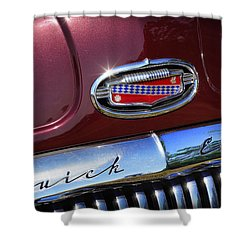 Shower Curtain featuring the photograph 1951 Buick Eight by Gordon Dean II