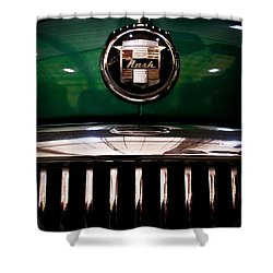 1951 Nash Statesman Super 6 Shower Curtain by David Patterson