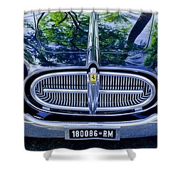 1952 Ferrari 212 Vignale Front End Shower Curtain by Jill Reger